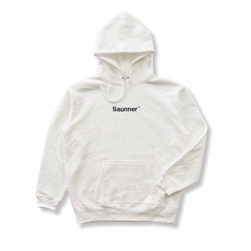 <img class='new_mark_img1' src='https://img.shop-pro.jp/img/new/icons8.gif' style='border:none;display:inline;margin:0px;padding:0px;width:auto;' />[TTNE] ティーティーエヌイー Logo Hooded Sweatshirt (White)