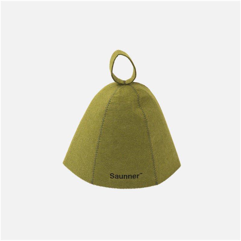 <img class='new_mark_img1' src='https://img.shop-pro.jp/img/new/icons8.gif' style='border:none;display:inline;margin:0px;padding:0px;width:auto;' />[TTNE] ティーティーエヌイー Saunner Logo Sauna Hat (Olive)