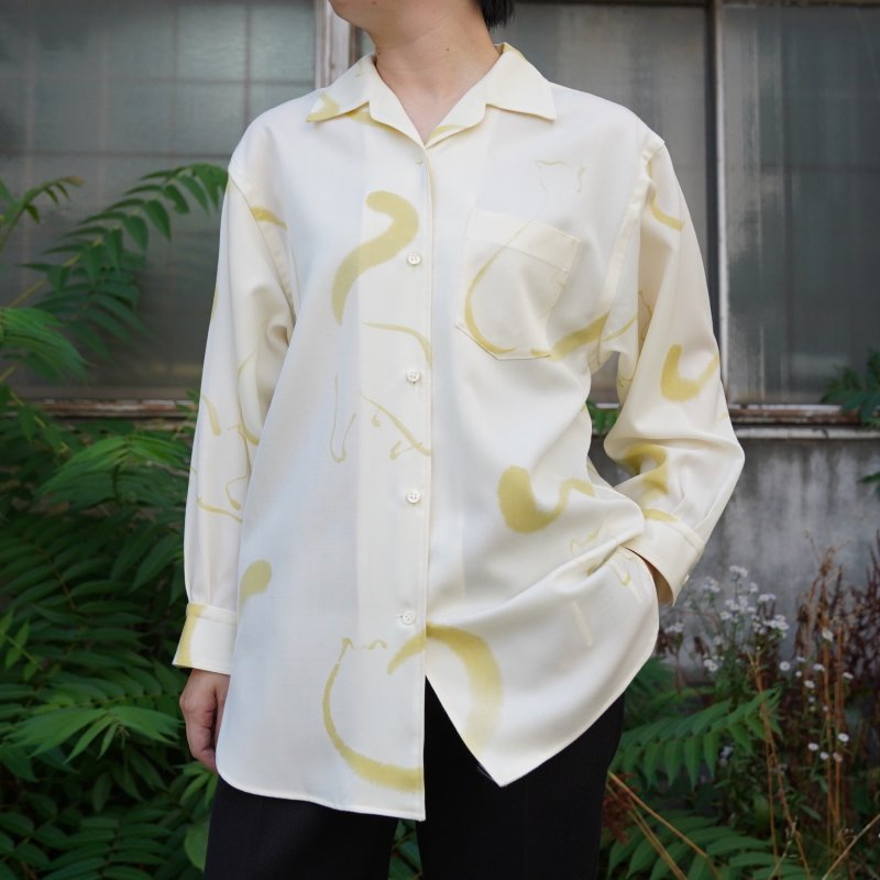 <img class='new_mark_img1' src='https://img.shop-pro.jp/img/new/icons6.gif' style='border:none;display:inline;margin:0px;padding:0px;width:auto;' />[WRYHT] ONE-PIECE COLLAR BLOUSE(BONE)