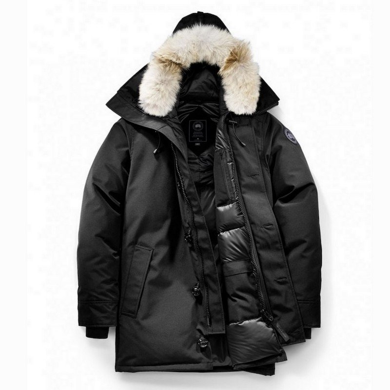 <img class='new_mark_img1' src='https://img.shop-pro.jp/img/new/icons56.gif' style='border:none;display:inline;margin:0px;padding:0px;width:auto;' />[CANADA GOOSE] カナダグース CHATEAU PARKA BLACK LABEL 3426MB (BLACK)