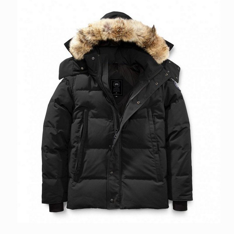 <img class='new_mark_img1' src='https://img.shop-pro.jp/img/new/icons56.gif' style='border:none;display:inline;margin:0px;padding:0px;width:auto;' />[CANADA GOOSE] カナダグース  WYNDHAM PARKA  BLACK LABEL 3808MB (BLACK)