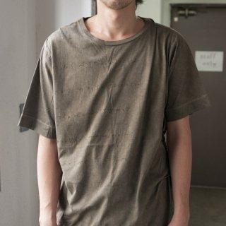 スミ×ヤマモモ染め Tシャツ サイズ1、2、3、4