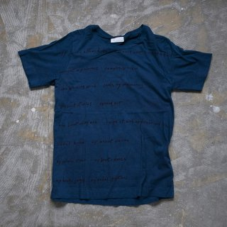 本藍染め Tシャツ サイズ1、2、3、4