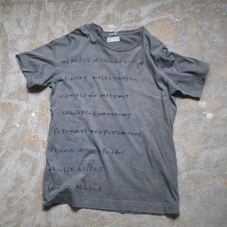 泥×藍染め Tシャツ サイズ1