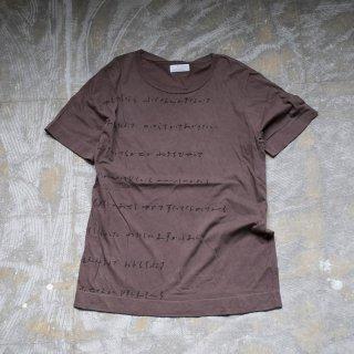 泥×テーチ染め Tシャツ サイズ1、2、3、4