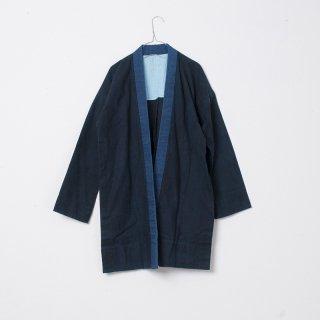 藍染コート 無地