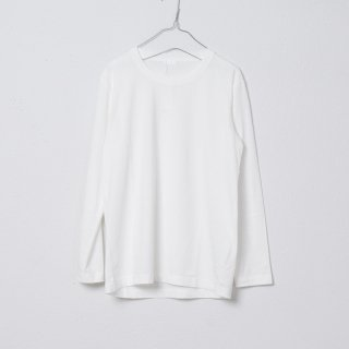 SUVIN GOLD ロングスリーブTシャツ オフホワイト