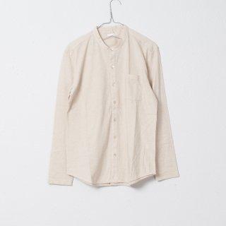 レッドカシミヤOGスタンドカラーシャツ キナリ
