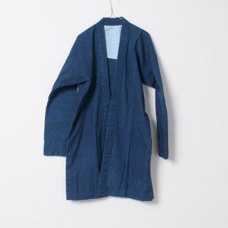 藍染コート 無地1