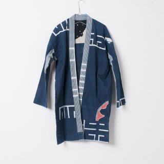 藍染コート 桜2