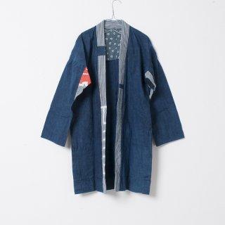 藍染コート 丸