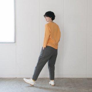 ラグラン9分袖Tシャツ オレンジ