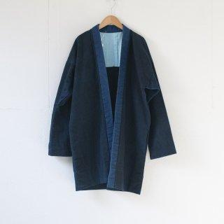 藍染コート 無地3