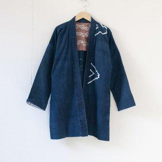 藍染コート 柄1