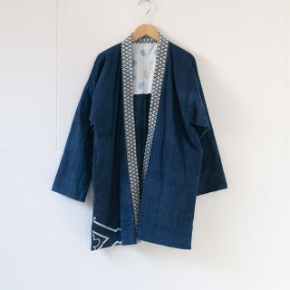 藍染コート 柄2
