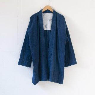 藍染コート 無地2