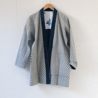 藍染コート あじろ1
