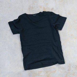 濃藍泥染め overdye Tシャツ