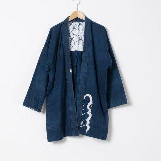 藍染コート 柄3