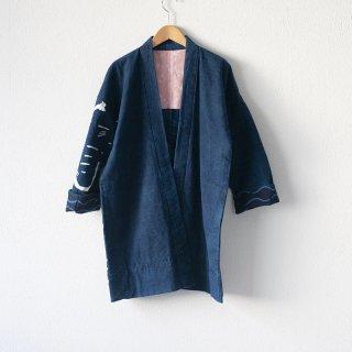 藍染コート 柄4