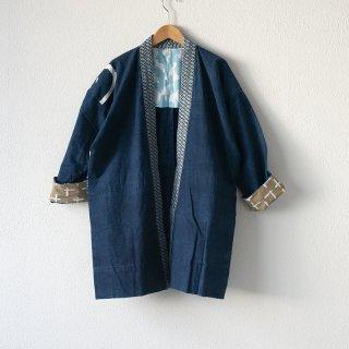 藍染コート 柄5