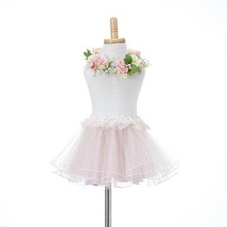 チュールスカートセット pink