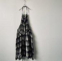 ■ rehellinen<Br> check series / apron dress