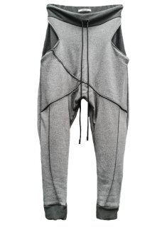 <img class='new_mark_img1' src='https://img.shop-pro.jp/img/new/icons59.gif' style='border:none;display:inline;margin:0px;padding:0px;width:auto;' />Japanesepaper Drop Crotch Slim Pants - Gray