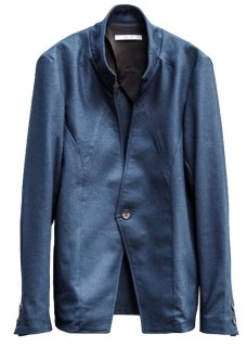 <img class='new_mark_img1' src='https://img.shop-pro.jp/img/new/icons8.gif' style='border:none;display:inline;margin:0px;padding:0px;width:auto;' />Balancircular Wool One Button Jacket - Navy