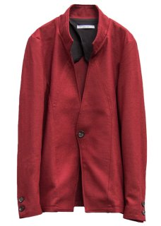 <img class='new_mark_img1' src='https://img.shop-pro.jp/img/new/icons8.gif' style='border:none;display:inline;margin:0px;padding:0px;width:auto;' />Balancircular Wool One Button Jacket - Bordeaux