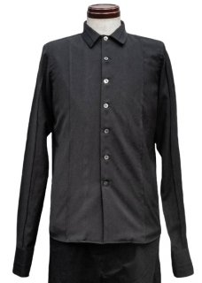 <img class='new_mark_img1' src='https://img.shop-pro.jp/img/new/icons8.gif' style='border:none;display:inline;margin:0px;padding:0px;width:auto;' />Straight Cut Water Repellent Shirt - Black