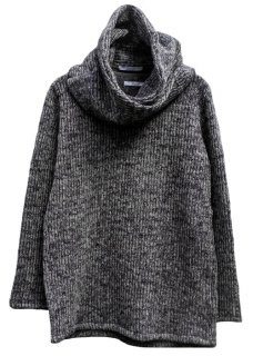 <img class='new_mark_img1' src='https://img.shop-pro.jp/img/new/icons29.gif' style='border:none;display:inline;margin:0px;padding:0px;width:auto;' />Snood Sliver Pullover Knit - Gray
