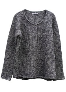 <img class='new_mark_img1' src='https://img.shop-pro.jp/img/new/icons29.gif' style='border:none;display:inline;margin:0px;padding:0px;width:auto;' />Sliver Pullover Knit - Gray