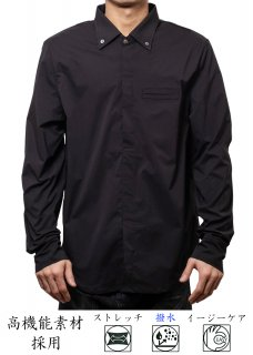 <img class='new_mark_img1' src='https://img.shop-pro.jp/img/new/icons14.gif' style='border:none;display:inline;margin:0px;padding:0px;width:auto;' />Zero Perfect Pullover Shirt - Black