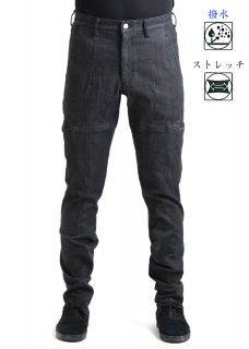 <img class='new_mark_img1' src='https://img.shop-pro.jp/img/new/icons14.gif' style='border:none;display:inline;margin:0px;padding:0px;width:auto;' />Zero Water-repellent Super Stretch 6Pocket Denim Pants - Black