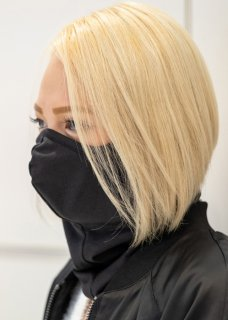 <img class='new_mark_img1' src='https://img.shop-pro.jp/img/new/icons14.gif' style='border:none;display:inline;margin:0px;padding:0px;width:auto;' />Stretch Japanesepaper 3D Mask Neckwarmer - Black