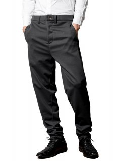 <img class='new_mark_img1' src='https://img.shop-pro.jp/img/new/icons14.gif' style='border:none;display:inline;margin:0px;padding:0px;width:auto;' />Zero Stretch Japanesepaper Jersey Easy Trousers - Gray