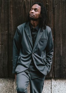 <img class='new_mark_img1' src='https://img.shop-pro.jp/img/new/icons14.gif' style='border:none;display:inline;margin:0px;padding:0px;width:auto;' />Zero Stretch Japanesepaper Jersey Unconstructed Jacket - Gray