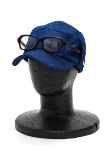 <img class='new_mark_img1' src='https://img.shop-pro.jp/img/new/icons14.gif' style='border:none;display:inline;margin:0px;padding:0px;width:auto;' />Cold Touch Cool Denim Jet Cap - Blue