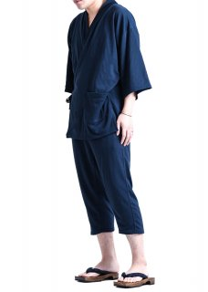 <img class='new_mark_img1' src='https://img.shop-pro.jp/img/new/icons14.gif' style='border:none;display:inline;margin:0px;padding:0px;width:auto;' />Zero Stretch Japanesepaper Relax Monk Wear - Navy
