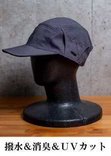 <img class='new_mark_img1' src='https://img.shop-pro.jp/img/new/icons14.gif' style='border:none;display:inline;margin:0px;padding:0px;width:auto;' />Zero Water-repellent Deodorize Camp Cap - Gray