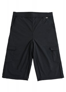 <img class='new_mark_img1' src='https://img.shop-pro.jp/img/new/icons14.gif' style='border:none;display:inline;margin:0px;padding:0px;width:auto;' />Zero Water-repellent Stretch Cropped Pants - Black