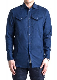 <img class='new_mark_img1' src='https://img.shop-pro.jp/img/new/icons14.gif' style='border:none;display:inline;margin:0px;padding:0px;width:auto;' />Zero Water-repellent Stretch Denim Like Shirt Jacket - Navy