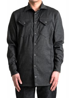 <img class='new_mark_img1' src='https://img.shop-pro.jp/img/new/icons14.gif' style='border:none;display:inline;margin:0px;padding:0px;width:auto;' />Zero Water-repellent Stretch Denim Like Shirt Jacket - Black