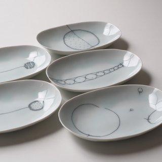 楕円 取り皿