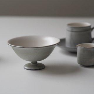 グレー デザート鉢(コンポート)