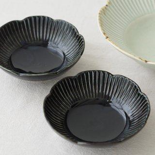 鎬(しのぎ) 輪花鉢 / 5寸
