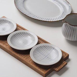 ストライプ 豆皿