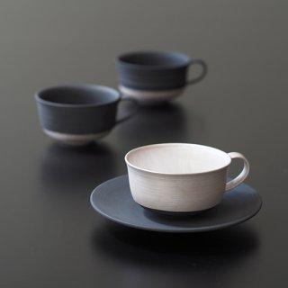 銀彩 マグカップ (腰切替え)
