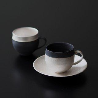 銀彩 マグカップ (口切替え)
